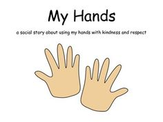 This social story was designed to help students learn the importance of using kind hands. It was designed for early childhood or special education classrooms. Social Emotional Learning, Social Skills, Student Learning, Teaching Kids, Teaching Kindergarten, Personal Space Social Story, Social Stories Autism, Free Preschool, Special Education Classroom