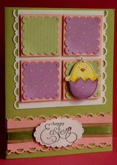 Easter Egg Card...by Pamiepk - Cards and Paper Crafts at Splitcoaststampers.