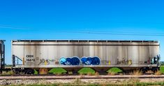 Rr Car, Rolling Stock, Train Car, Car Photos, Model Trains, Graffiti, Weather, America, Fan