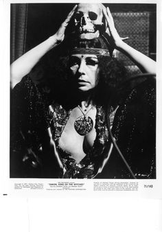 Simon, King of the Witches, This High Priestess witch is Far-Out, man. That Old Black Magic, Hammer Horror Films, Fantasy Witch, Film Poster Design, Esoteric Art, Magic Symbols, Aradia, Demonology, Vintage Witch