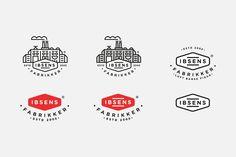 Ibsens Fabrikker logo setup