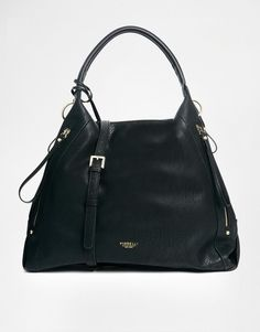 fcaa81b75f Fiorelli Black Casual Shoulder Faux Leather Cross Body Handbag Tote Work Bag  New in Clothes
