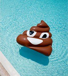 Bouée emoji Poo