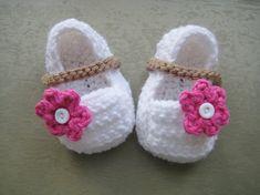 Crochet Pattern Baby Booties