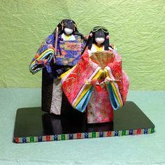 創作和紙人形(ひな祭り) : カメラ片手にぶらり旅 ・・・・