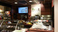 Promotieberlscherm voorbeeld Brasserie