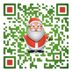 QR code: Merry Christmas. Created by iQR codes.