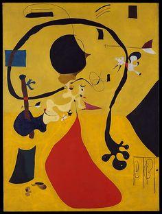 Dutch Interior (III) Artist: Joan Miró (Spanish, Barcelona 1893–1983 Palma de Mallorca) Date: 1928 Medium: Oil on canvas Dimensions: 51 1/8 x 38 1/8 in.