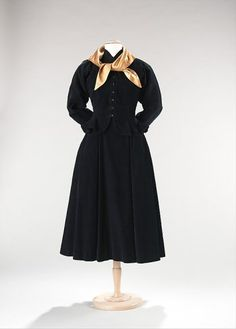 Claire McCardell, Cocktail Ensemble, 1947, The Metropolitan Museum of Art, New York
