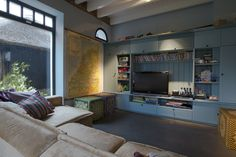 Television room or play room. Interior design private house