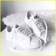 Adidas white stan smith shoes Adidas original superstar sneakers www.justtrendy - Adidas White Sneakers - Latest and fashionable shoes - Adidas white stan smith shoes Adidas original superstar sneakers www. Moda Sneakers, Sneakers Mode, Sneakers Fashion, Fashion Shoes, Adidas Sneakers, All White Sneakers, Shoes Sneakers, Casual Sneakers, Adiddas Shoes