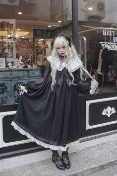 """#gothiclolita #lolitafashion #rectangleheaddress neko-story-lolita: """"02/19 """""""