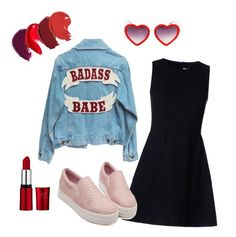 """"""""""" by aldisaerika on Polyvore featuring Linda Farrow and RED Valentino"""