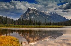 Mt. Rundle Reflected