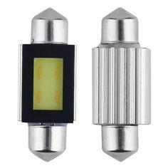 1.83$  Buy now - http://ali82e.shopchina.info/go.php?t=32564323760 - 2pcs Xenon White 36mm Car COB LED License Plate Light 6418 C5W 4W LED Bulbs free shipping 1.83$ #buyonlinewebsite