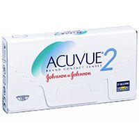 Johnson & Johnson | Buy Johnson And Johnson Acuvue2 Value Pack Contact Lenses Online in India | Lenses Direct