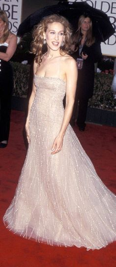 Sarah Jessica Parker dress by Michael Tyler