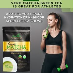 matcha is great for athletes