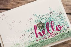Stampin' Up! UK Feeling Crafty - Bekka Prideaux Stampin' Up! UK Independent Demonstrator: Hello, Timeless Textures and lots of Sparkle!