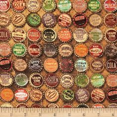 Tim Holtz Eclectic Elements Top Shop Multi from @fabricdotcom  Designed by Tim Holtz, this cotton print is perfect for quilting, apparel and home decor accents.  Colors include orange, red, cream, brown, green, purple, and aqua.