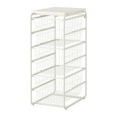 ALGOT Mandhouder/3 draadmanden/bovenblad  - IKEA