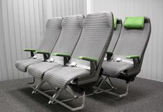 Knitted Aircraft Seat