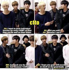 Okay, Jin. Okay. | allkpop Meme Center