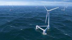 """Scottish Highland Council Approves """"Novel Floating Wind Farm"""" Demonstration"""