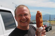 Sometimes a sausage wrapped in a bun is just what you need. This one got et in Montana, but not by Phil.
