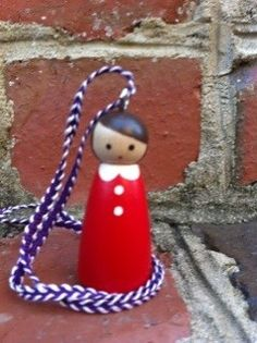 peg doll necklace-love it!
