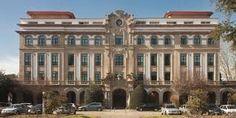Santiago de Compostela Campus universitario.