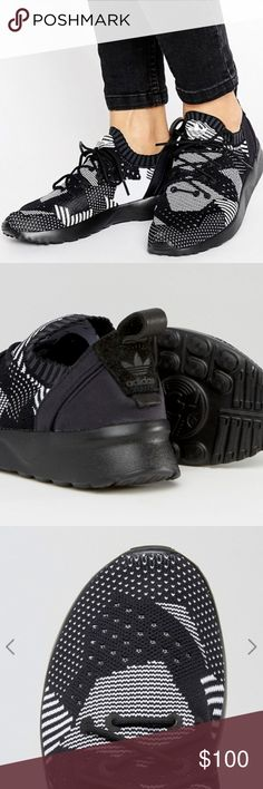 NWB Adidas Sneakers 7.5 US Women's Details:  ⁃Trefoil logo on tongue and ankle cuff ⁃Pull tab at ankle cuff ⁃Contrast panel design (polka dots, stripes, patchwork) ⁃Chunky sole  ⁃Molded tread for traction  Fit: ⁃US Women's 7.5 ⁃True to Size  Condition: ⁃Brand new with box (NWT/NWB) adidas Shoes Athletic Shoes