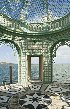 Vizcaya, Miami by Ron Blunt Photography