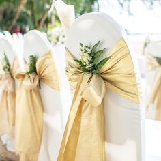Superieur Gold Accents Are Always Our Favorite! Loving Our Tissue Lame Chair Sashes  Which Add The