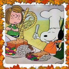 Thanksgiving Classic! Peanuts Thanksgiving, Charlie Brown Thanksgiving, Happy Thanksgiving, Thanksgiving Quotes, Vintage Thanksgiving, Snoopy Cartoon, Peanuts Cartoon, Peanuts Snoopy, Charlie Brown Cafe