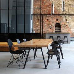 Holzwerk Hamburg baumtisch eichentisch esstisch tisch holztisch table dinningtable