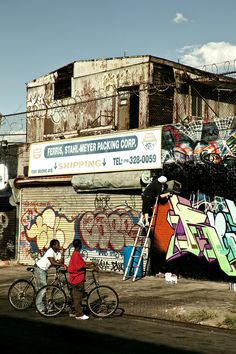 Graffiti is synonymous with hip hop culture