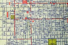 vintage maps salt lake city - wall art