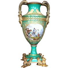 Beautiful Directoire-style urn