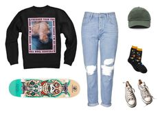 """""""Out with friends"""" by ode-to-sleep on Polyvore featuring Topshop, Converse, friends, out and skate"""