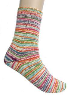 Striped socks  Super Soxx  size EU 37/38 UK by Carolinevantveer, $20.00