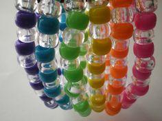 Rainbow bracelets for kids