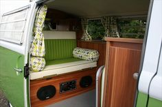 Camper Restoration::Van Conversion| Serafini Amelia| Design Inspiration| The Camper Shak - Hand Crafted VW Camper Interiors