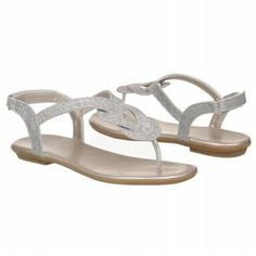Me Too Carmel Pre/Grd Sandals (Silver) - Kids' Sandals - 3.0 M