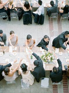 Dreamy Creamy Wedding Featured on 100 Layer Cake — Marilyn Ambra Party Consultants La Tavola Linen, Romona Keveza, 100 Layer Cake, Bridesmaid Dresses, Wedding Dresses, Photography Poses, Wedding Styles, Floral Design, Dream Wedding