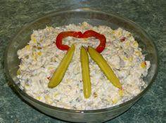 Salata de piept de pui cu ciuperci si porumb