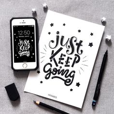 Inspiring and strong typography quotes can be an efficient solution for your workspace decoration. You can keep yourself motivated with style. Calligraphy Quotes Doodles, Brush Lettering Quotes, Doodle Quotes, Calligraphy Letters, Typography Quotes, Typography Letters, Typography Inspiration, Inspiration Quotes, Best Quotes Wallpapers