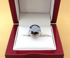 Gorgeous Certified 6 Carat Natural Black Diamond by PLDjewelry, $689.99