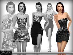 DarkNighTt's Strapless Sequin Dress