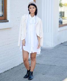 Alex jacket - shopmaccs.com White Dress, Jackets, Shirts, Dresses, Fashion, Down Jackets, Vestidos, Moda, Fashion Styles